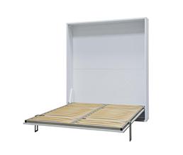 Łóżko chowane w szafie - składane pionowo