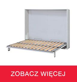 Systemy łóżek chowanych w szafie poziome